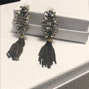 Brand New Banana Republic Tassle Fringe Earrings